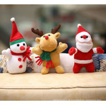 2015 nova chegada boneco de neve véspera de natal saco de maçã