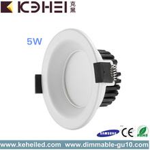 Liten storlek LED Hotel Lighting Downlight 5W 6000K