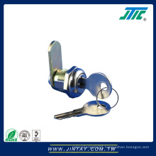 Full Size Large Flat Key Cam Lock with Dust Shutter