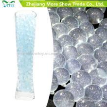 Gel de água de solo de cristal azul Glitter Beads decoração de casamento