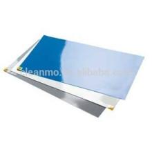 "10 esteras / caja, 30 capas por Almohadilla, 18 ""x 36"", 3.5 C AZUL Estera adhesiva, Esteras esteras limpias / esteras adhesivas de PVC / Almohadillas adhesivas, utilizadas para"