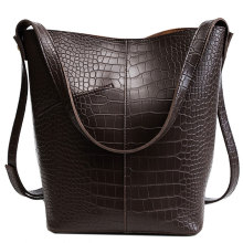 Moda Clássica Bonito PU Leather Lady Hand Bag