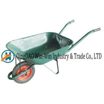 Roue en caoutchouc de roue de brouette Wb6500