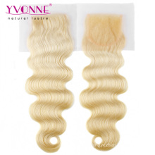 Blond Brazilian Body Wave Hair Closure