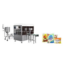 8 Stations Rotary Packing Machine For  Paste