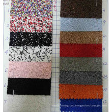 Beads Twill Glitter Fabric for Decoration