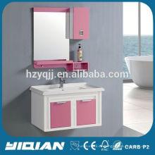 Diseño moderno de pared montado de alta calidad de PVC pequeñas ideas de almacenamiento de baño