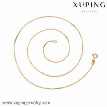42626 -Xuping ювелирные изделия высокое качество и горячей продажи ожерелье с золотым покрытием