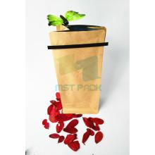 Coffee Pouch with Tin Tie For Sale