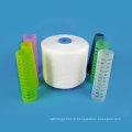Fil en plastique de fil de polyester du filé 20s / 4 de couture de polyester de 100 PCT