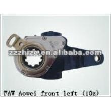 boa qualidade FAW Aowei eixo dianteiro esquerda braço de ajuste / peças de ônibus
