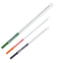 Aiguilles d'acupuncture avec poignée en plastique couleur