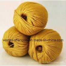 Hilados mezclados de la cachemira de la lana de seda