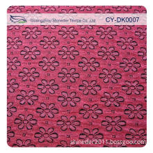 2013 Pink Fashionable Swiss Voile Lace Fabric for Lady Garment/Nylon Lace Fabric for Wedding Dresses