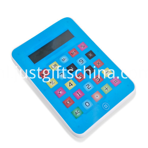 Promotional Students Led Tablet Calculator _4