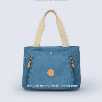 Nouvelle conception promotionnelle Fashion Custom Promotion Canvas Handbag