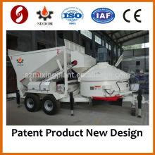 China Mejor calidad MB1200 pequeña planta de hormigón móvil de dosificación a la venta, 10-16m3 / h, como Fibo