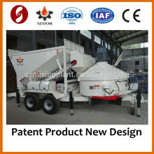China Best Quality MB1200 Mobile Small Concrete Batching Plant for sale,10-16m3/h, like Fibo