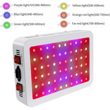 600W LED élèvent des lumières croissantes végétales légères / fleurs