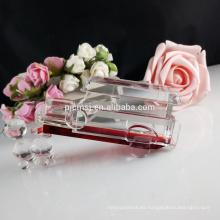 Modelo del coche cristalino famoso del color 3D para los regalos y la decoración de la habitación