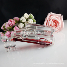 Modèle en verre en cristal célèbre de voiture de la couleur 3D pour des cadeaux et la décoration de pièce