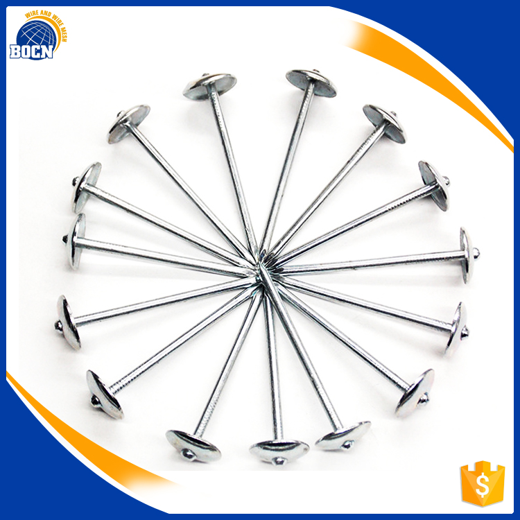 Galvanized Umbrella Head Roofing Nails