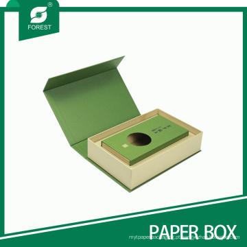 Caixa de chá de papel de luxo de alta qualidade atacado