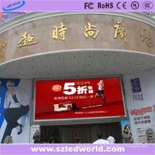 Brilho alto da exposição P8 da placa do sinal do diodo emissor de luz para o centro comercial da loja