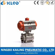 Pneumatic Power Whitey Wireless Water Ball Valve