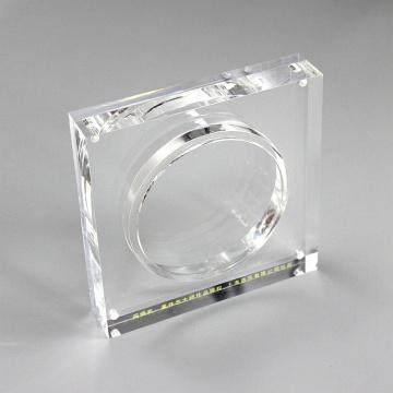 APEX Magnetischer Acryl-Abzeichen-Herausforderungs-Münzenständer
