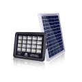 Solar floodlights with motion sensors for squares