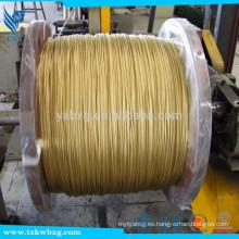 7 * 19 304 acero inoxidable 55 metros cable de cable de alambre de 8 mm