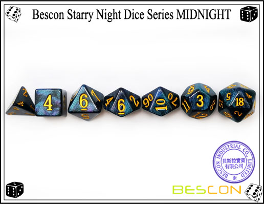 Starry Night Dice-3