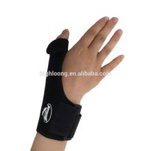 Resistente al agua impermeable mano de la palma mano pulgar apoyo apoyo