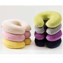 Подушка для путешествий U-образная защитная подушка для ворса для шеи