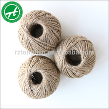 Cuerda de yute de cuerda de cáñamo natural para artesanía hecha a mano