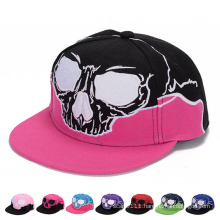 Skull Embroidered Fashion Promotional Cotton Sports Trukfit Trucker Caps (YKY3362)