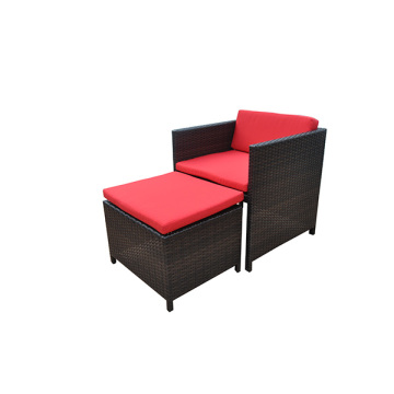 Home Rattan Garden Furniture 6 Chairs