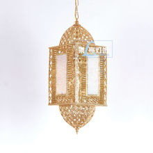 Luxury gold wholesale moroccan lanterns, moroccan lighting LT055