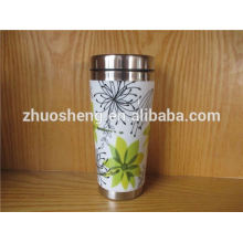 fashionable product wholesale alibaba china stainless steel white ceramic coffee mug
