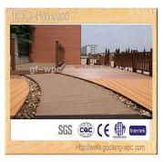 wood plastic decking
