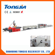 Línea de fabricación de tubería rígida de gas de agua de PVC (JG-XCG)