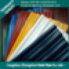 Couvert de couleur ppgi ral 9012