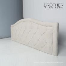 Modern plastic upholstered leg king size hotel headboard