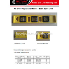I-Beam Plastic Spirit Level