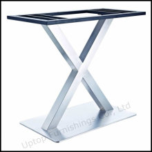 X Shape Decorative Stainless Steel Table Base (SP-STL256)