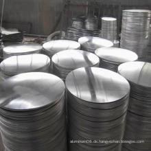 1050 1100 1060 3003 Grade des Aluminiumkreises