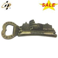 Custom zinc alloy metal Roma souvenir magnets badge