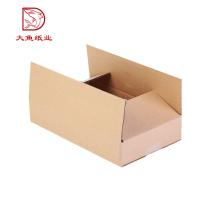 Fabrication professionnelle personnalisé pas cher papier pliage boîte de carton