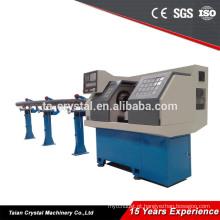 Máquina de rosqueamento de tubo CNC pvc com furo grande eixo CYK0660DT